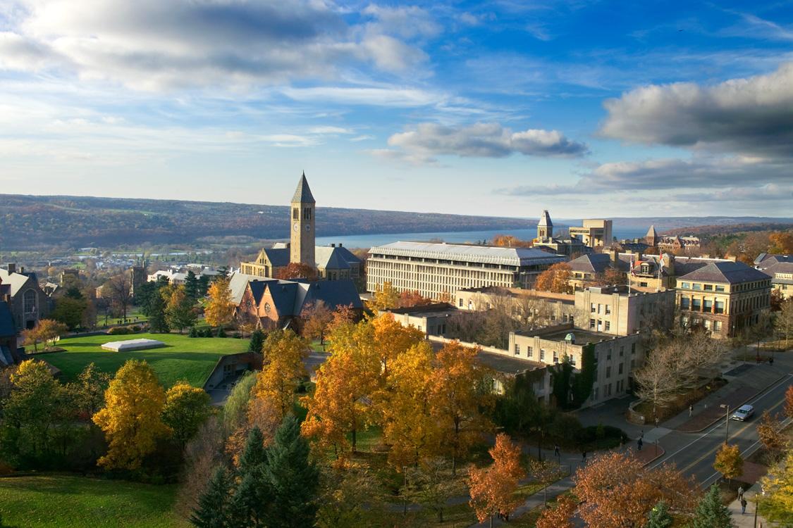 Cornell University Campus View